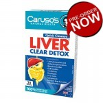 Carusos Natural Health Quick Cleanse Liver Clear Detox 30 Tablet
