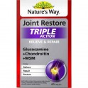 Nature's Way Joint Restore Triple Action Glucosamine + Chondroitin + MSM 60 Tablet