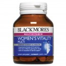 Blackmores Women's Vitality Multi 50 Tablet