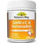 Nature's Way Garlic + C & Horseradish 200 Tablet