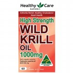 Healthy Care Wild Krill 1000mg 60 Kapsul